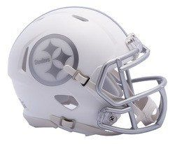 Pittsburgh Steelers Helmet - Riddell Replica Mini - Speed Style - Ice Alternate - Special Order
