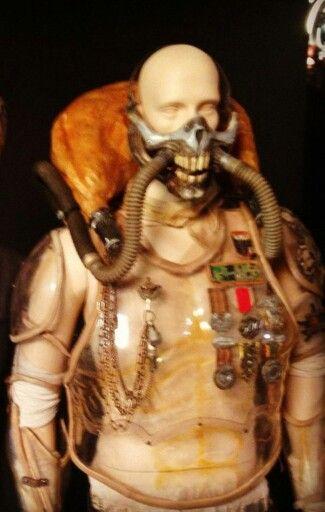 Immortan Joe Villian Costume From Mad Max Fury Road (2015) Costume Designed By Jenny Beaven