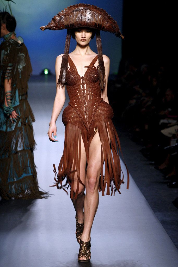 Jean Paul Gaultier Spring 2010 Couture Fashion Show - Alana Zimmer - Model: Tara Gill