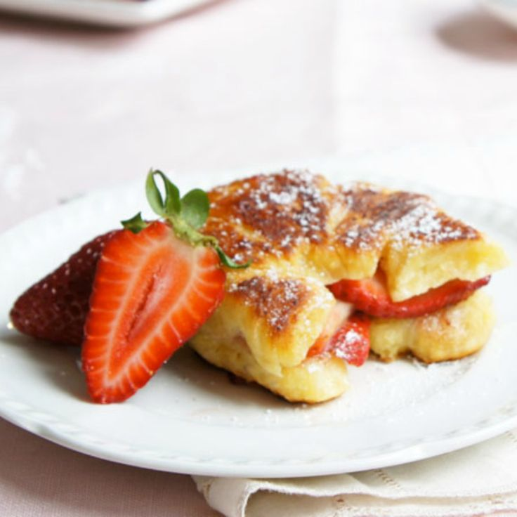This Strawberry Croissant French Toast by AngelDust will have you pondering whether it's a pastry or toast?