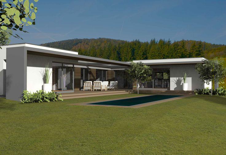 3 Helle Weiße Und Minimalistische Häuser Inspirierende Klarheit Des Geistes