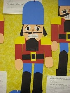 Nutcracker paper craft                                                                                                                                                                                 More