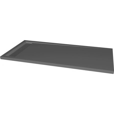 399 € / Receveur extra plat à poser xxl 80 x 160 cm gris anthracite