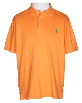 Ralph Lauren Orange Polo Shirt - L £28