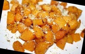 Parmesan-Oregano Butternut Squash (Actifry) Recipe - Recipezazz.com