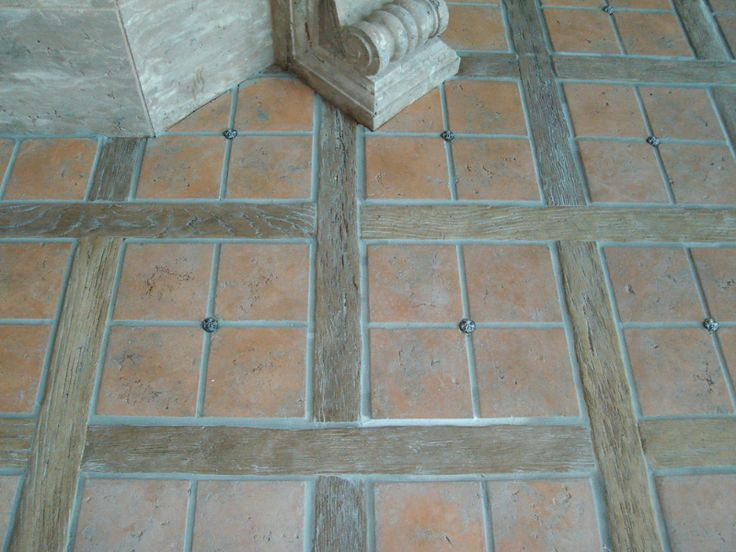 Terracota floor design