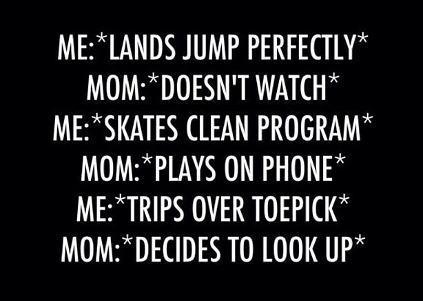 "LOL Sorry, Honey... that's me!  :)  Just change ""mom doesn't watch"" to ""Mom tends to baby brother."""