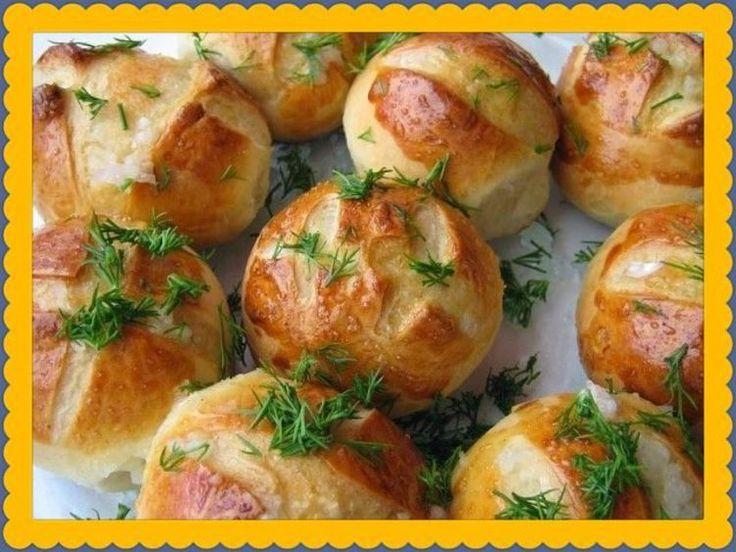 Пампушки с чесноком к борщу - вкусно и просто