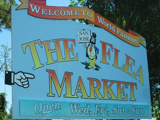 I used to live in the Berryessa section of San Jose not far from the well known Berryessa Flea Market.