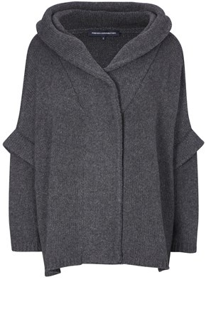 MIRANDA KNITS HOODED CARDIGAN - Knitwear & Sweats - French Connection Canada