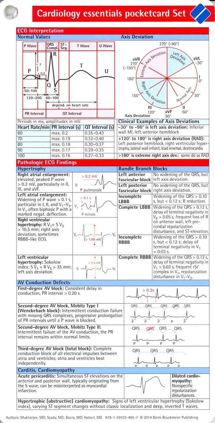 Cardiology Essentials Pocketcard Set