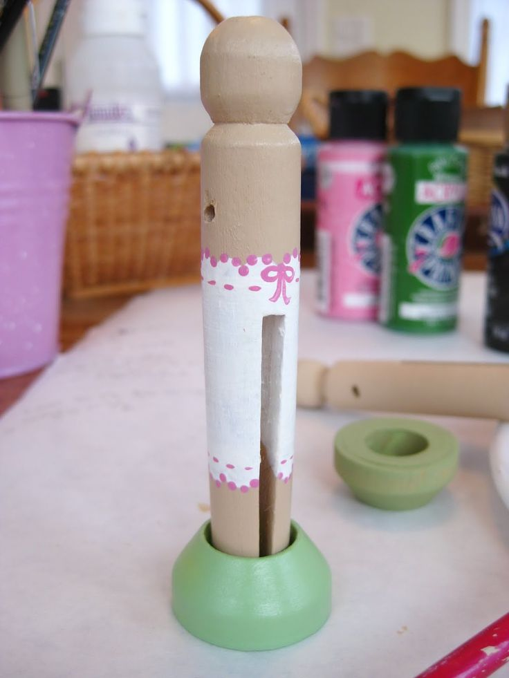 Clothespin Doll tutorial...Piccalilli Days: Made a Lily - Step 7