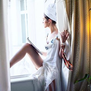 Summer lethargy at #MurmurHotel. #HolidayEdition #MurmurClothing