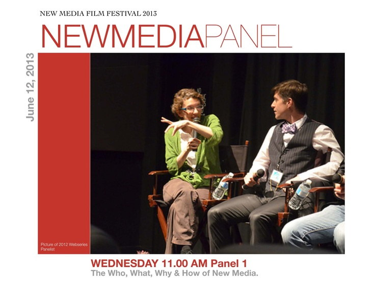 Join us while experts discuss the Who, What, and How of New Media!!