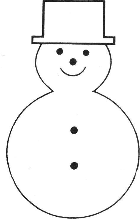 Image result for Free Printable Snowman Face Template Christmas