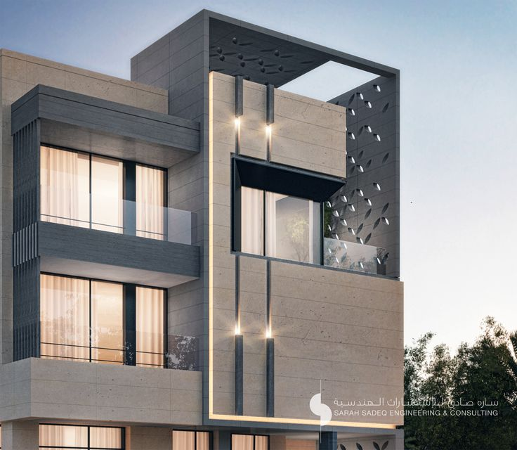 17 best images about sarah sadeq architectes on pinterest for Modern house design kuwait