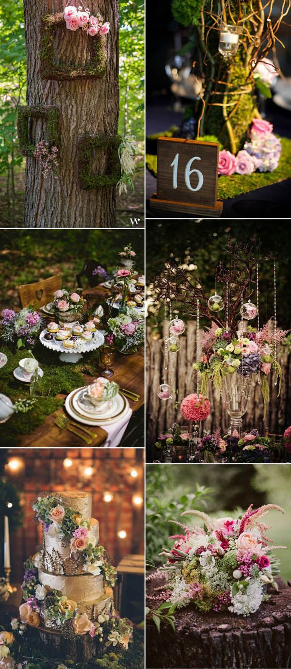 Enchanted forest weddings are always whimsical and full of fantasy,which is a good option for those brides who prefer a fairy-tale wedding party.Creating a stunning forest ceremony can be quite easy, remember to decor...