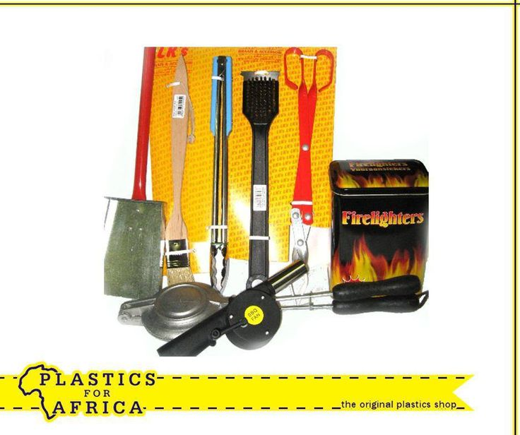 Get all your #Braai essentials from your nearest #PlasticsForAfrica outlet. #Plastic
