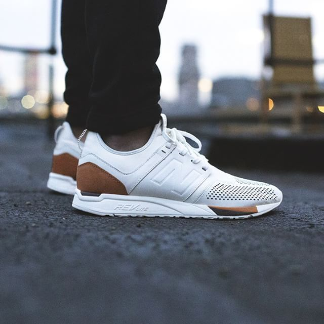 new balance 247 leather uomo