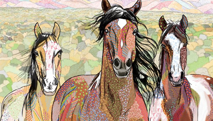 Calico Horses and the Patchwork Trail  To Be Released January