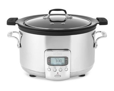 All-Clad 4qt. Deluxe Slow Cooker with Cast Aluminum Insert #williamssonoma