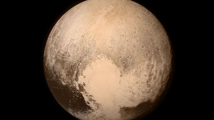 NASA releases the final color image of Pluto taken before the flyby.  Taken at about 4PM ET on July 13th, according to NASA, from 476,000 miles away.