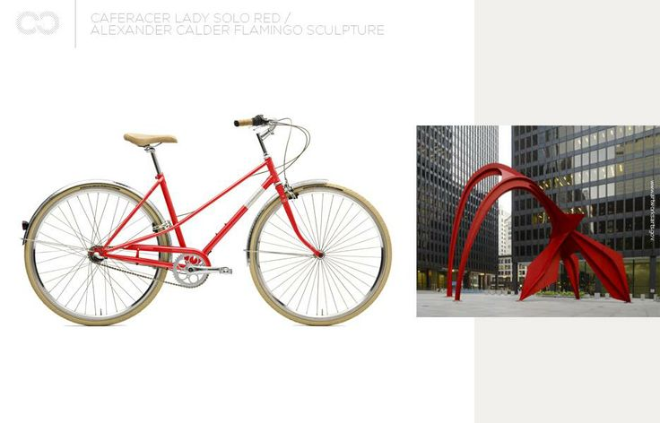 red as Creme, red as Flamingo  #bike #creme #cycles #cremecycles #cycling #ride #mybike #freedom #lifestyle #art #life #love #city #cyclingphotos
