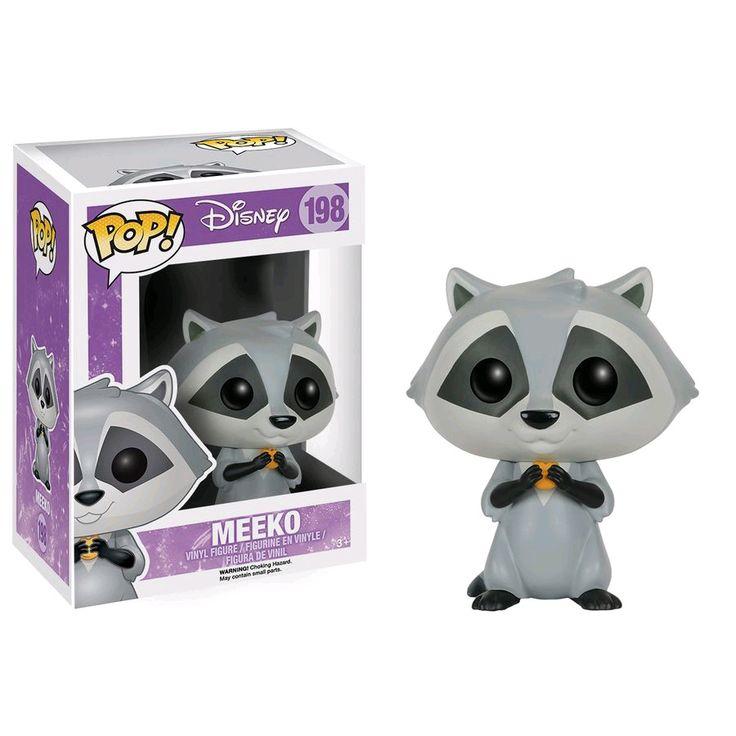 il est juste trop mignon regardez le! Pop Disney collection Pocahontas c'est un des petits compagnons de Pocahontas le petit raton laveur Meeko