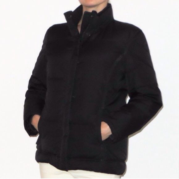 TODAY SALE! - Black Puffy GAP Jacket Black super comfortable puffy GAP jacket. Very warm. Size S. Gently worn, but still in great shape. GAP Jackets & Coats Puffers