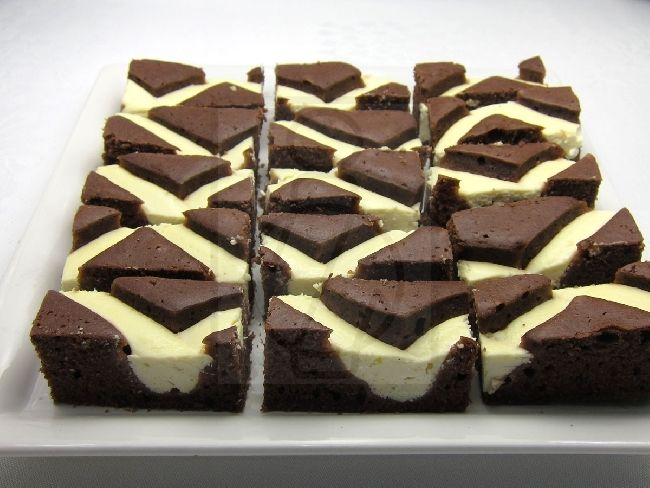 Durchgefallener Blechkuchen