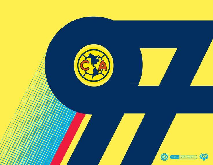 97 CLUB AMÉRICA · #AMERICAnografico