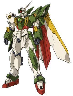 Wing Gundam Fenice - Front