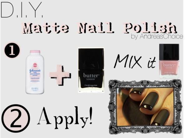 D.I.Y Matte Nail Polish : My Beauty tip   savvystyle - personal ...