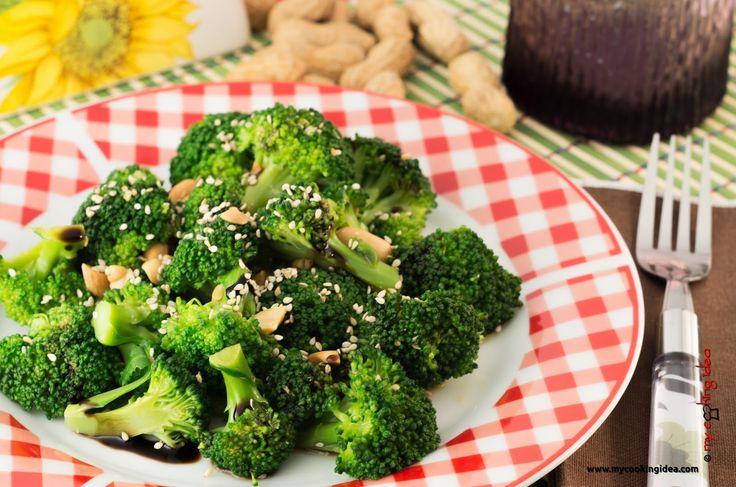 My Cooking Idea. Ricette vegetariane, ricette vegane.: I broccoli, idea per un contorno saporito