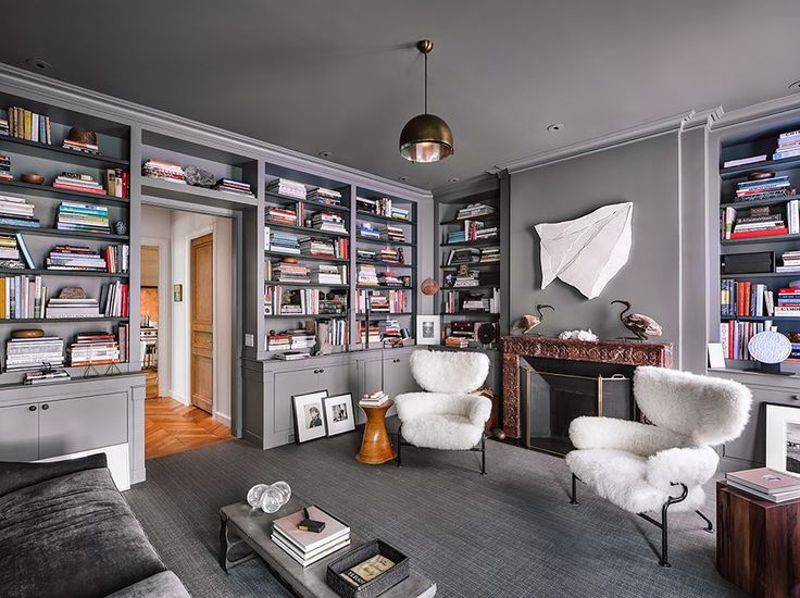 Apartment designer Steven Volpe, Pacific Heights, San Francisco, USA.