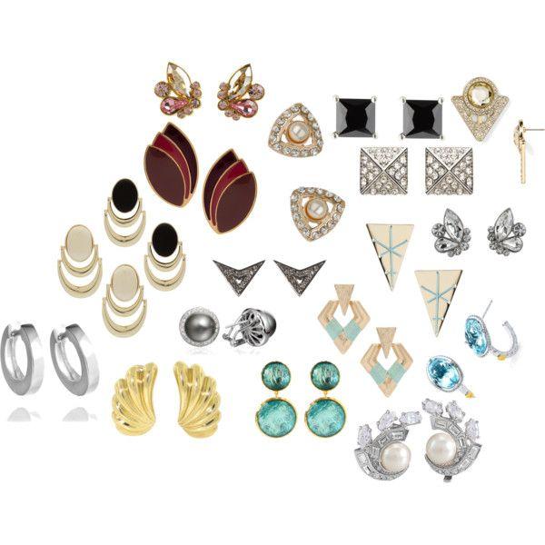 """DC earrings"" by jenr8 on Polyvore"