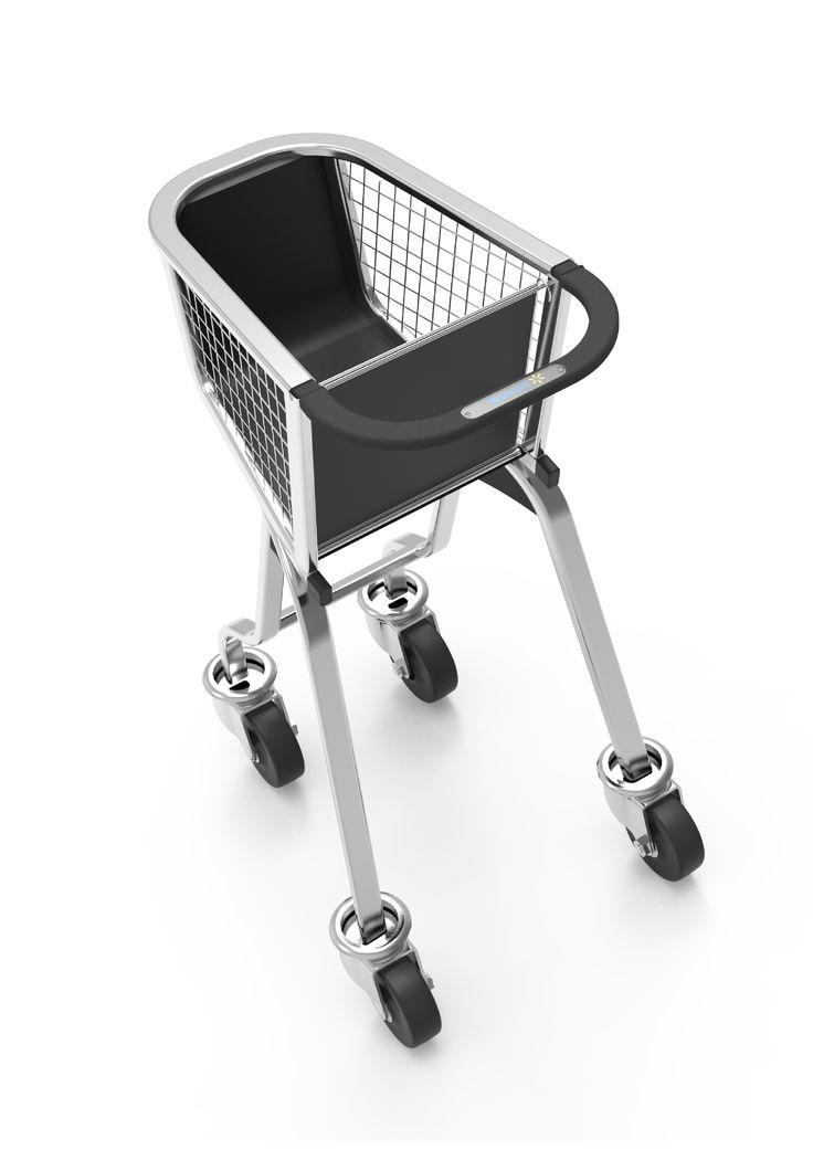 """DI: Flor Marzialetti Consulta este proyecto @Behance: """"Shopping cart / Carro para mini-mercado"""" https://www.behance.net/gallery/37142373/Shopping-cart-Carro-para-mini-mercado"""
