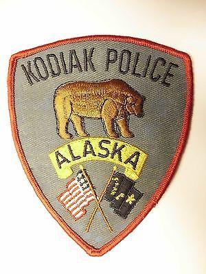 OLD-VINTAGE-KODIAK-POLICE-PATCH-ALASKA