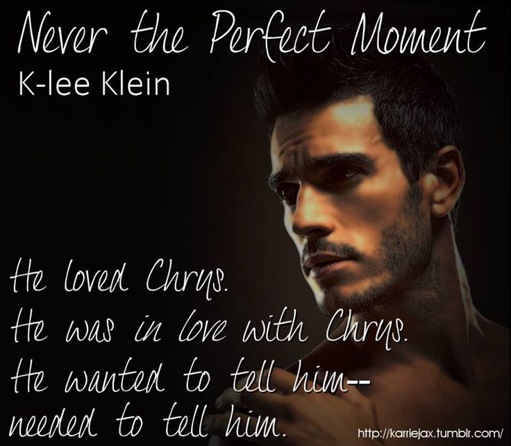 Fan art by Karrie Jax for Never the Perfect Moment