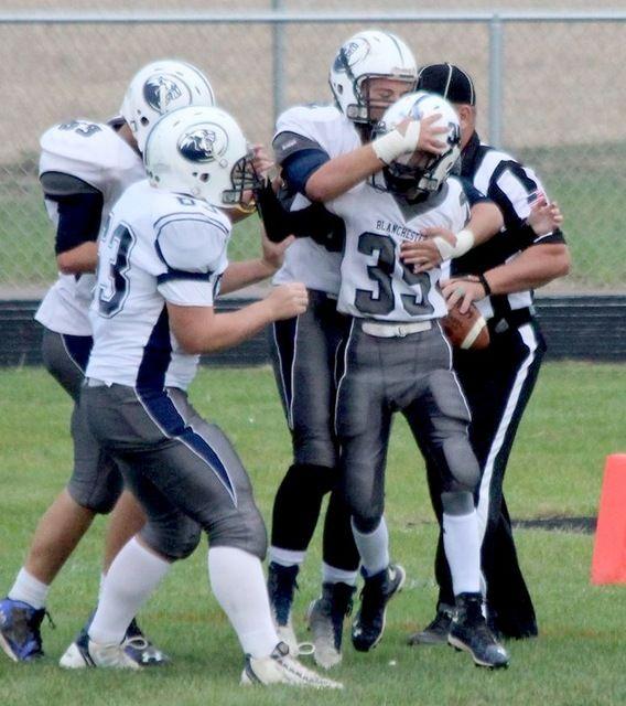 Wilmington News Journal   Wildcat JV football blasts 'Burg 43-6