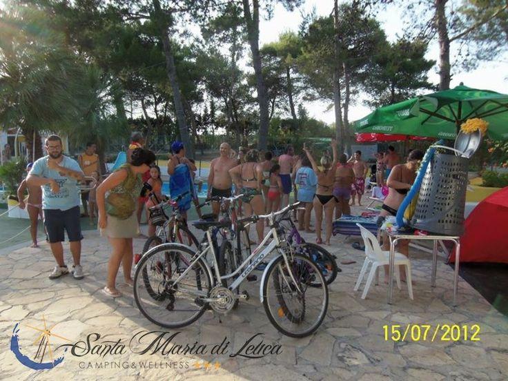 Le gare in bici