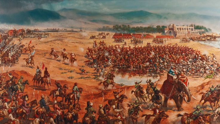 The Battle of Plassey was a decisive victory of the British East India Company over the Nawab of Bengal and his French allies on 23 June 1757. The battle consolidated the Company's presence in Bengal, which later expanded to cover much of India over the next hundred years.