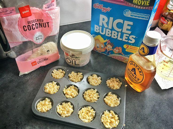 Rice Bubble Bites Ingredients