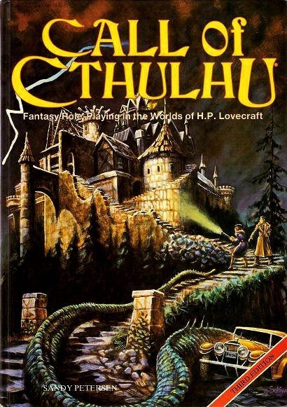 Call of Cthulu - fantasy role playing game in the worlds of H.P. Lovecraft