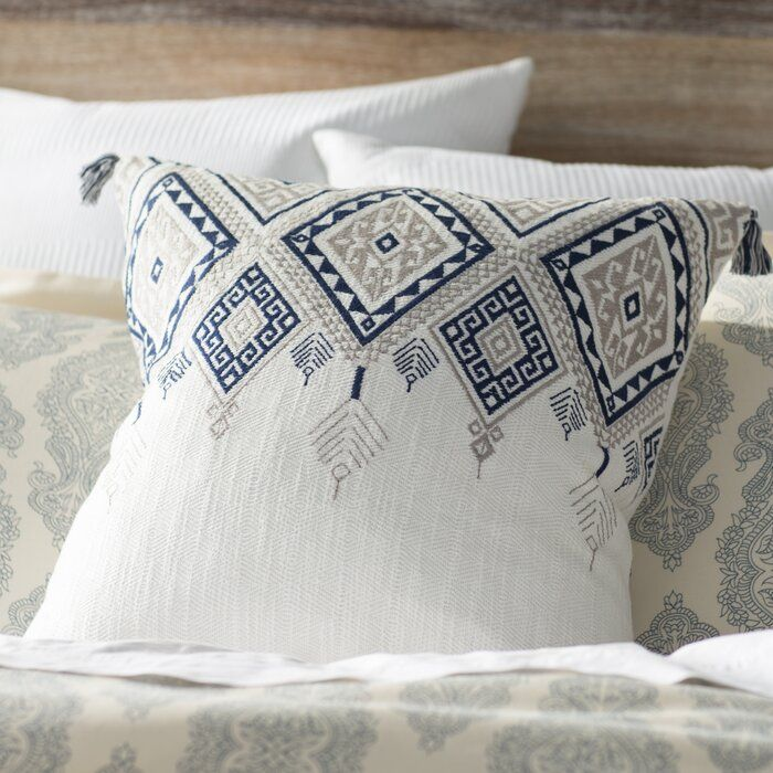 Eleta Square Cotton Pillow Cover And Insert Throw Pillows Decorative Pillow Covers Pillows