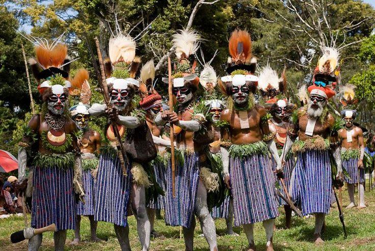 ► Trek Papouasie-Nouvelle-Guinée : Hagen Show Highlands Ambunti Sepik
