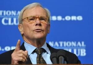 """Former """"NBC Nightly News"""" anchor Tom Brokaw has been secertly suffering from bone cancer since last summer."""