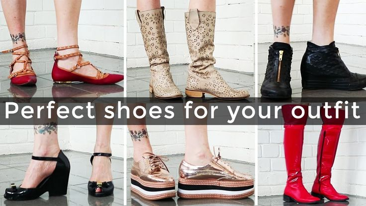 Outfit ideas for women over 40 – how to pick the perfect shoes for an ou...