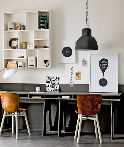 WORKSPACE LAMP BLACK