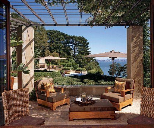 Undefined: Architectural Digest · Mediterranean GardenMediterranean Style  HouseOutdoor ...